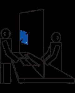 Cross the Counter Hearing Loop
