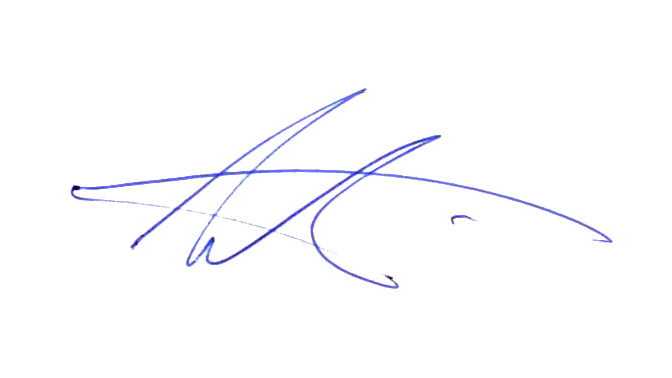 Signature of Andrew Willis - Managing Director - Word of Mouth Technology
