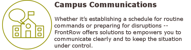 School Communications - FrontRow Conductor