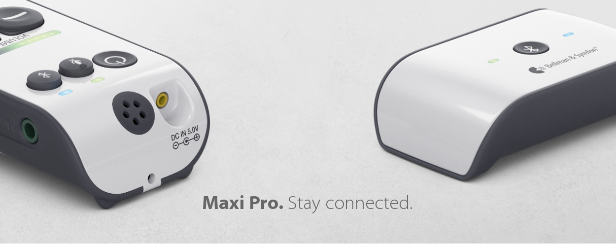 Maxi Pro - TV, Conversation and Mobile Phone Calls Loud and Clear!