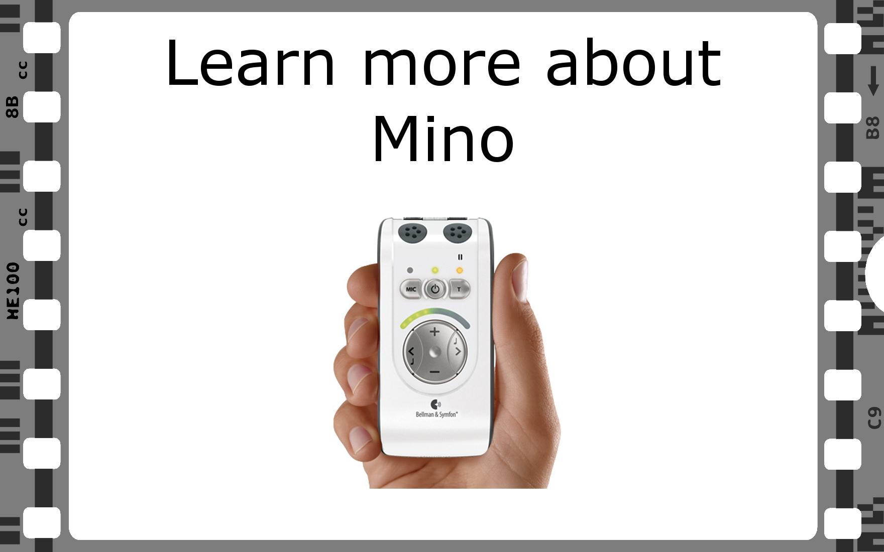 Bellman Mino eLearning Video